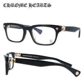 クロムハーツ メガネフレーム おしゃれ老眼鏡 PC眼鏡 スマホめがね 伊達メガネ リーディンググラス 眼精疲労 Chrome Hearts 眼鏡 アジアンフィット CHROME HEARTS GITTIN ANY?-A BK-GP 52 スクエア メンズ レディース
