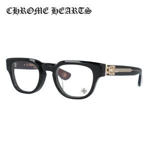 クロムハーツ メガネフレーム おしゃれ老眼鏡 PC眼鏡 スマホめがね 伊達メガネ リーディンググラス 眼精疲労 レギュラーフィット CHROME HEARTS CUNTVOLUTED BK-18GP 49サイズ ウェリントン ユニセック