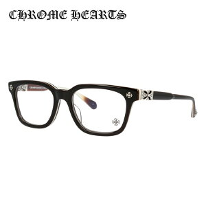 クロムハーツ メガネフレーム おしゃれ老眼鏡 PC眼鏡 スマホめがね 伊達メガネ リーディンググラス 眼精疲労 レギュラーフィット CHROME HEARTS COX UCKER BRBBR 52サイズ 海外正規品 ウェリントン ユ