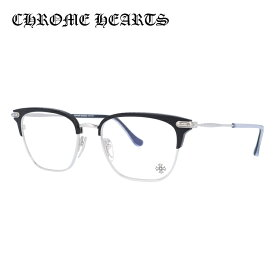 クロムハーツ メガネフレーム おしゃれ老眼鏡 PC眼鏡 スマホめがね 伊達メガネ リーディンググラス 眼精疲労 伊達メガネ CHROME HEARTS MUFFBUFFIN' MBK/BS 53サイズ ウェリントン ユニセックス メンズ レディース 日本製フレーム クロス