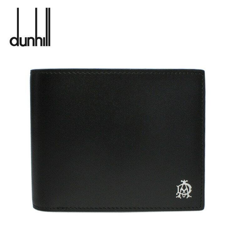 ダンヒル 折り財布 dunhill L2AS32A WESSEX ウェセックス ブラック 小銭入れ有 レザー メンズ