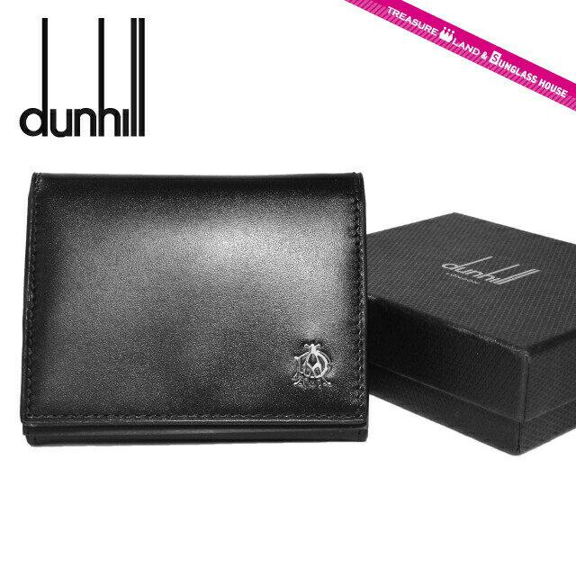 ダンヒル コインパース dunhill L2R380A WESSEX(ウェセックス) ブラック コインケース 小銭入れ 財布 ウォレット メンズ 革 レザー