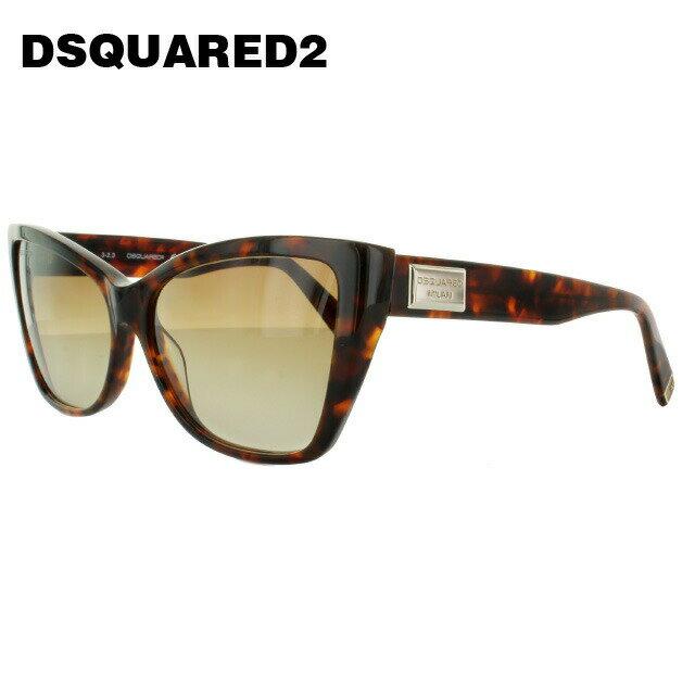 ディースクエアード2 サングラス DSQUARED 2 DQ0129S 55F トータス/ブラウングラデーション メンズ レディース UVカット メガネ ブランド