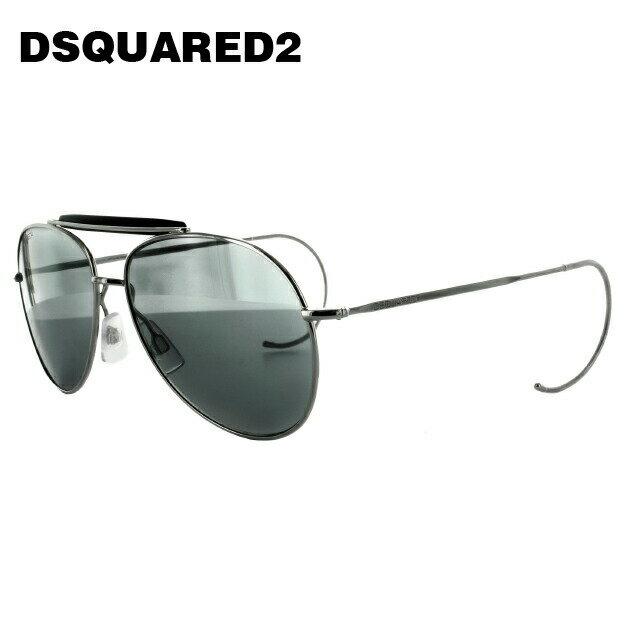 ディースクエアード2 サングラス DSQUARED 2 DQ0144S 16C シルバー/グレー メンズ レディース UVカット メガネ ブランド