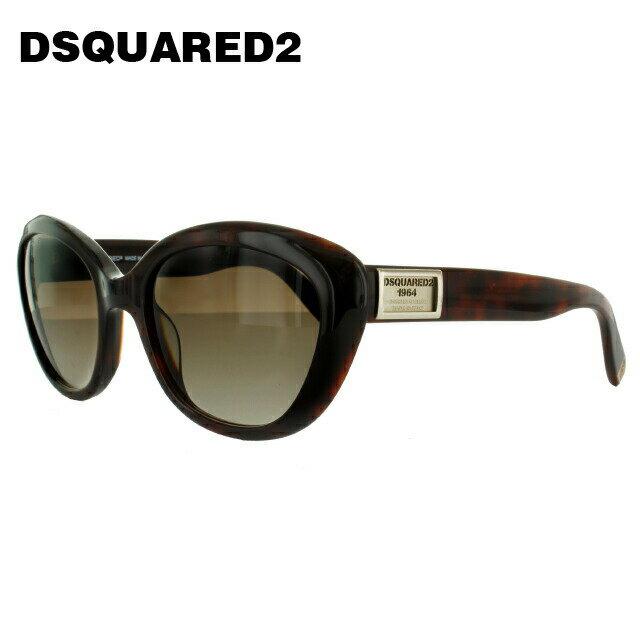 ディースクエアード2 サングラス DSQUARED 2 DQ0146S 53F ダークトータス/ブラウングラデーション メンズ レディース UVカット メガネ ブランド