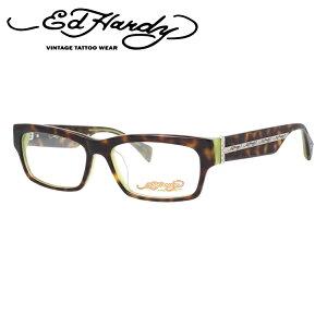 【訳あり】エドハーディー メガネフレーム おしゃれ老眼鏡 PC眼鏡 スマホめがね 伊達メガネ リーディンググラス 眼精疲労 EdHardy 眼鏡 EHOA004 2 TORTOISE OLIVE トータスオリーブ メンズ レディース
