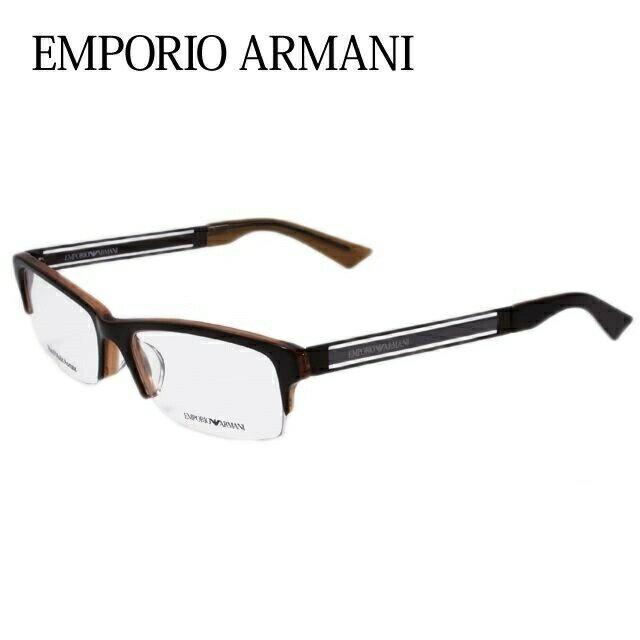エンポリオアルマーニ メガネ フレーム EMPORIO ARMANI 伊達 眼鏡 EA1343J 66Z 54 メンズ レディース ブランドメガネ ダテメガネ ファッションメガネ 伊達レンズ無料(度なし・UVカット)