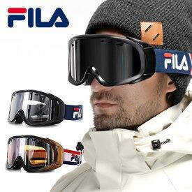 【訳あり】スノーボード スキー ゴーグル スノーボードゴーグル スキーゴーグル スノボ スキー スノーゴーグル GOGGLE フィラ FILA BARDI FLG-7046 全6カラー メンズ レディース ユニセックス ミラーレンズ UVカット ダブルレンズ 平面レンズ