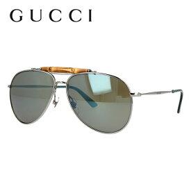 グッチ サングラス GUCCI GG2235/S 6LB/3U 58サイズ ミラーレンズ バンブー レディース 女性 ブランドサングラス メガネ UVカット カジュアル ファッション 人気 ギフト