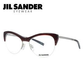 【期間限定ポイント10倍】JIL SANDER メガネフレーム おしゃれ老眼鏡 PC眼鏡 スマホめがね 伊達メガネ リーディンググラス 眼精疲労 ジル・サンダー 伊達 眼鏡 J2010-D 54 レディース ファッションメガネ
