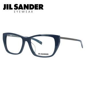 JIL SANDER メガネフレーム おしゃれ老眼鏡 PC眼鏡 スマホめがね 伊達メガネ リーディンググラス 眼精疲労 ジル・サンダー 伊達 眼鏡 J4005-L 52 アジアンフィット レディース ファッションメガネ
