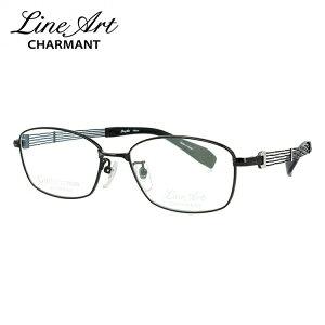 ラインアート メガネフレーム おしゃれ老眼鏡 PC眼鏡 スマホめがね 伊達メガネ リーディンググラス 眼精疲労 Line Art XL1075-BK 54サイズ スクエア メンズ