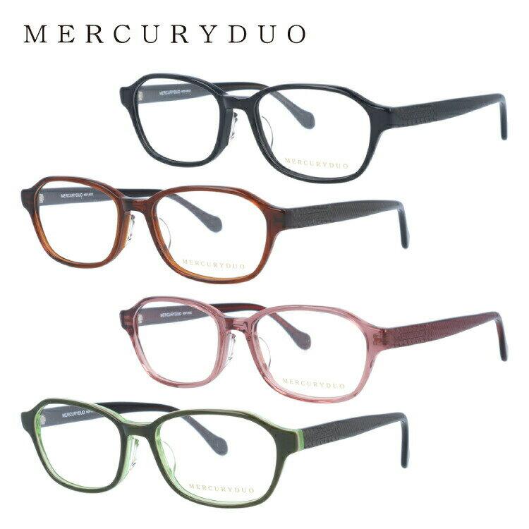 マーキュリーデュオ メガネ フレーム MERCURYDUO 伊達 眼鏡 MDF8032 全4カラー アジアンフィット レディース ブランドメガネ ダテメガネ ファッションメガネ 伊達レンズ無料(度なし・UVカット)