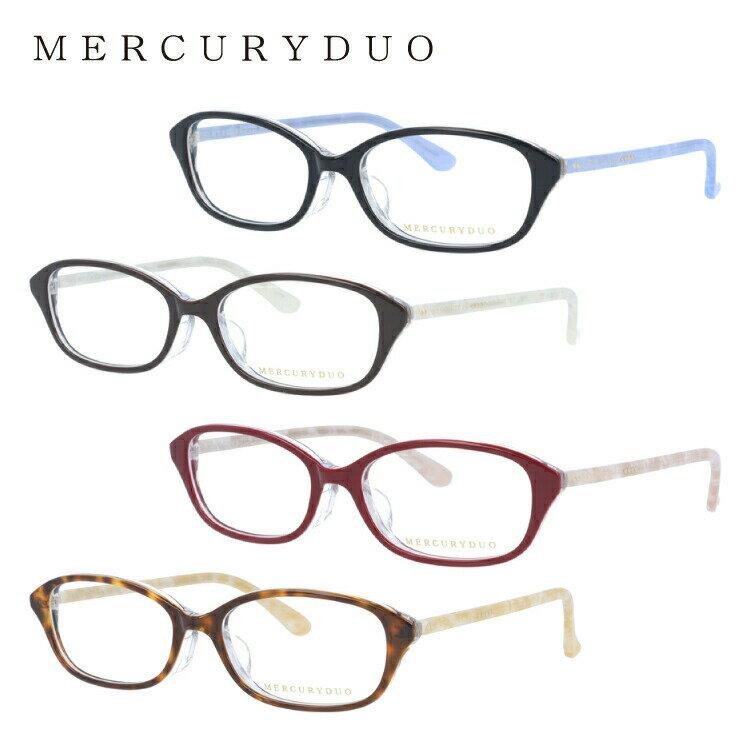 マーキュリーデュオ メガネ フレーム MERCURYDUO 伊達 眼鏡 MDF8034 全4カラー アジアンフィット レディース ブランドメガネ ダテメガネ ファッションメガネ 伊達レンズ無料(度なし・UVカット)