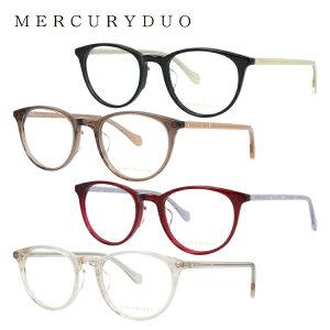 マーキュリーデュオ メガネフレーム おしゃれ老眼鏡 PC眼鏡 スマホめがね 伊達メガネ リーディンググラス 眼精疲労 MERCURYDUO MDF8042 全4カラー 50サイズ ボストン レディース ラインストーン