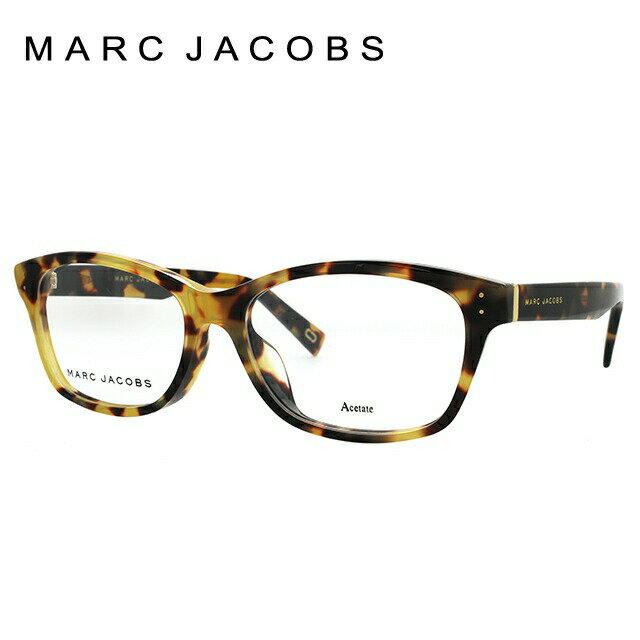マークジェイコブス メガネフレーム MARC JACOBS レディース眼鏡 伊達メガネ アジアンフィット MARC 149F 00F 52サイズ 国内正規品 スクエア
