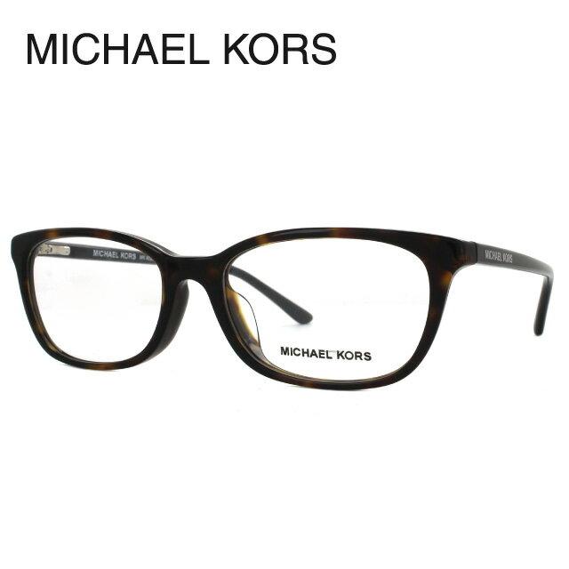 マイケルコース メガネフレーム 伊達メガネ アジアンフィット MICHAEL KORS MK4028D 3057 54サイズ 国内正規品 スクエア ユニセックス メンズ レディース