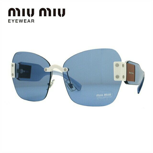 ミュウミュウ サングラス miu miu MU08SS VIU2J1 63サイズ 国内正規品 バタフライ ユニセックス メンズ レディース
