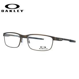 オークリー メガネ OAKLEY 眼鏡 スチールプレート 伊達メガネ OAKLEY STEEL PLATE OX3222-0454 54サイズ スクエア ユニセックス メンズ レディース ギフト【国内正規品】