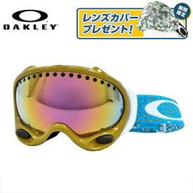 オークリー ゴーグル Aフレーム A FRAME OAKELY 59-238J アジアンフィット ミラーレンズ メンズ レディース 男女兼用 シグネチャー スキーゴーグル スノーボードゴーグル