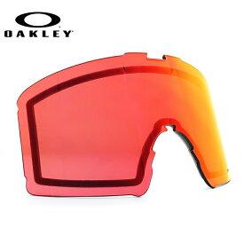 オークリー ゴーグル交換レンズ 2018-2019新作 ラインマイナー XM プリズム ミラーレンズ OAKLEY LINE MINER XM 102-867-007 ユニセックス メンズ レディース スキーゴーグル スノーボードゴーグル スノボ ギフト
