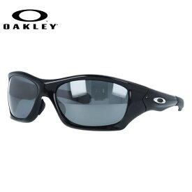 オークリー サングラス OAKLEY PIT BULL ピットブル OO9161-06 Polished Black / Black Iridium Polarized (偏光) アジアンフィット ユニセックス【ピットブル】 ギフト【国内正規品】