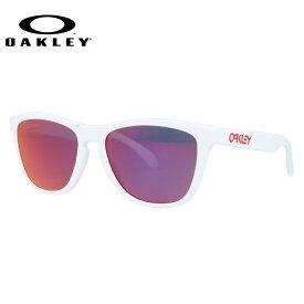 オークリー サングラス OAKLEY FROGSKINS フロッグスキン 24-307 Polished White / Ruby Iridium ユニセックス【フロッグスキン】 ギフト【海外正規品】【Ruby Iridium】