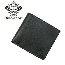 オロビアンコ 折財布 OROBIANCO PORTAFOGLIO ART 34-I 01VIT-NERO-99 NERO (ブラック) レザー 革 誕生日 記念日 ご褒美 プレゼント 新社会人