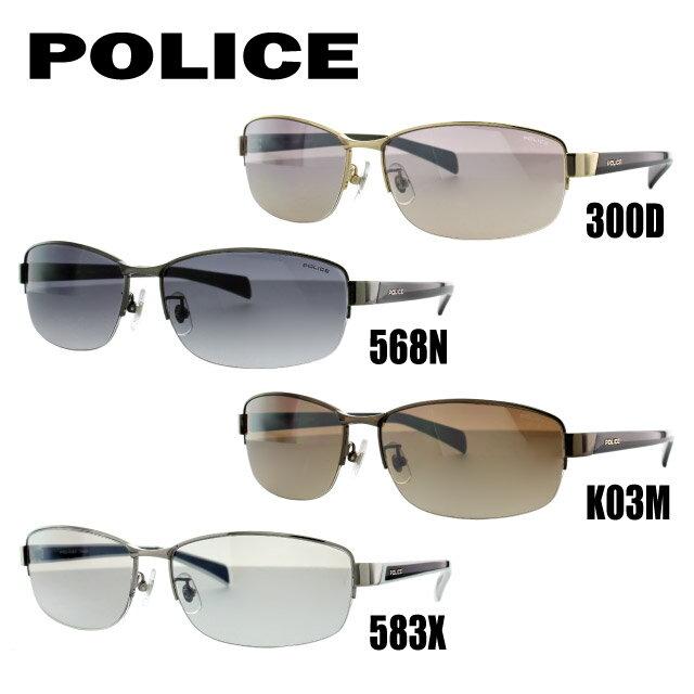 ポリス サングラス POLICE SPL272J 300D/568N/K03M/583X 60 アジアンフィット メンズ