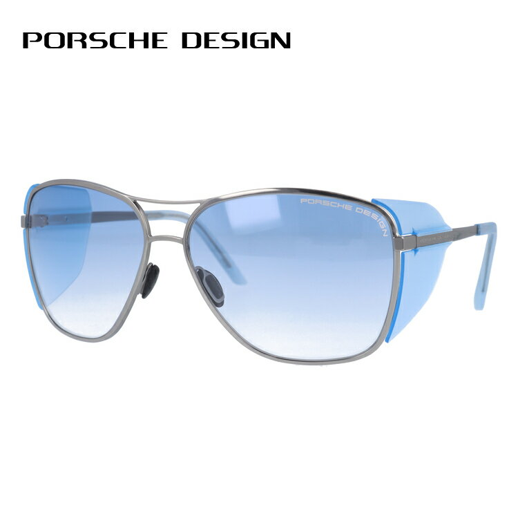 ポルシェデザイン サングラス PORSCHE DESIGN P8600-C 62サイズ 国内正規品 ウェリントン ユニセックス メンズ レディース