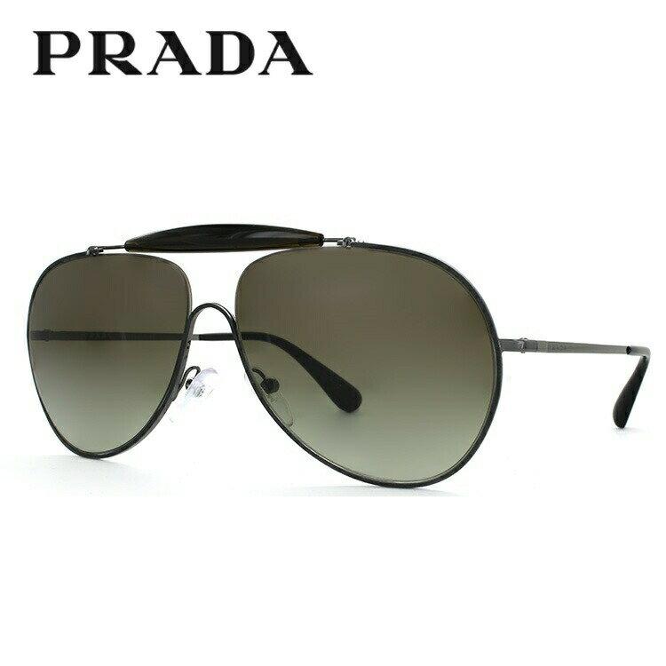 プラダ サングラス PRADA PR56SS UFT5O2 59サイズ 国内正規品 ティアドロップ(ダブルブリッジ) メンズ