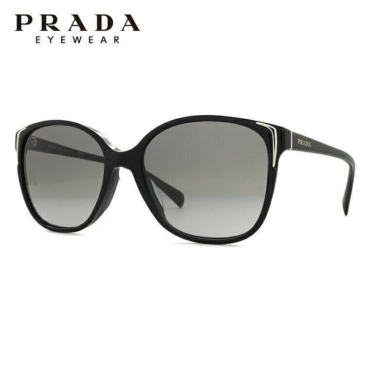 プラダ サングラス アジアンフィット PRADA PR01OSA 1AB3M1 55サイズ 国内正規品 スクエア ユニセックス メンズ レディース