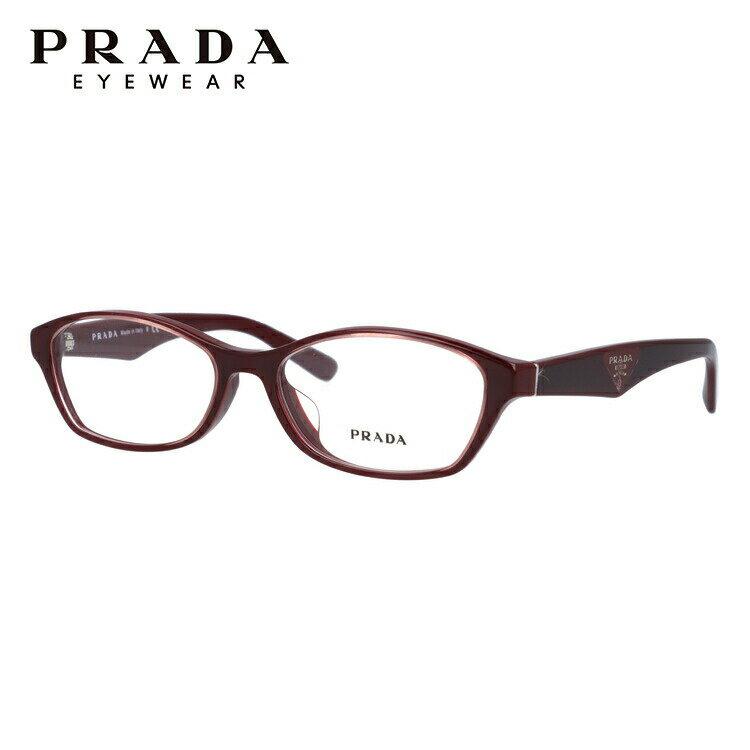 プラダ メガネフレーム 伊達メガネ アジアンフィット PRADA PR02SV UAN1O1 54サイズ 国内正規品 オーバル ユニセックス メンズ レディース