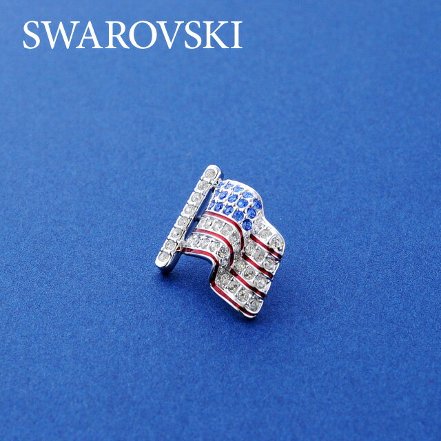 スワロフスキー ブローチ SWAROVSKI PIN GEAR TACK FLAG 992198 クリスタル ガラス ジュエリー アクセサリー レディース 結婚式 二次会 パーティー