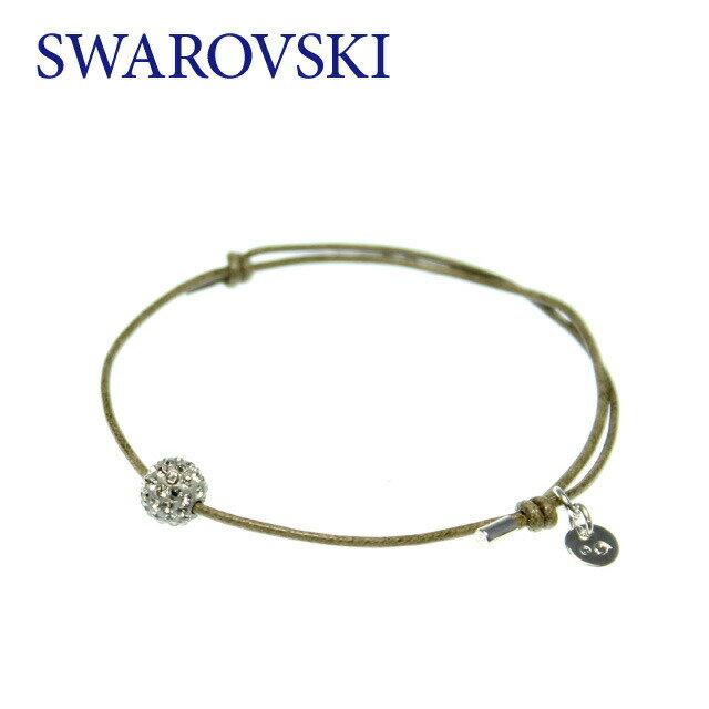 スワロフスキー ブレスレット SWAROVSKI LUCKY YOU BRAC BALL 1065224 クリスタル コードブレスレット 紐 ガラス ジュエリー アクセサリー レディース 結婚式 二次会 パーティー