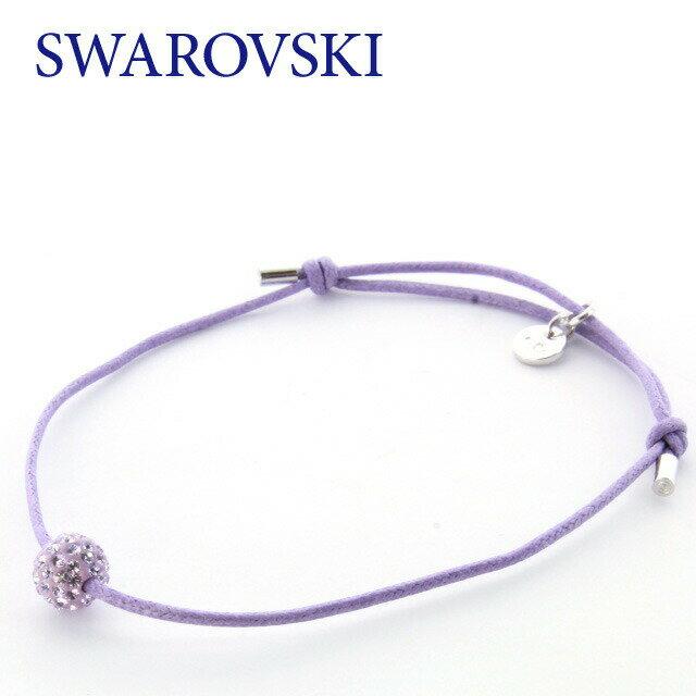 スワロフスキー ブレスレット SWAROVSKI LUCKY YOU BRAC BALL 1072039 クリスタル コードブレスレット 紐 ガラス ジュエリー アクセサリー レディース 結婚式 二次会 パーティー