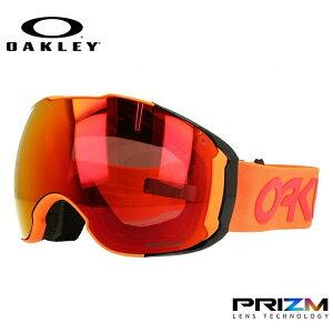 オークリー ゴーグル エアブレイク XL OAKLEY 2019-2020モデル プリズム ミラーレンズ レギュラーフィット AIRBRAKE XL OO7071-41 男女兼用 メンズ レディース スキーゴーグル スノーボードゴーグル ス