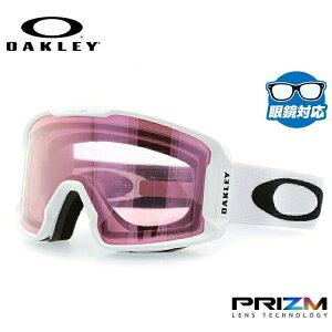 【眼鏡対応】オークリー ゴーグル ラインマイナーXM OAKLEY 2019-2020モデル プリズム ミラーレンズ レギュラーフィット LINE MINER XM OO7093-11 男女兼用 メンズ レディース スキーゴーグル スノーボ