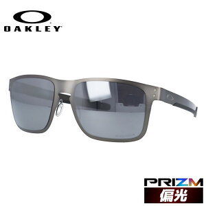 オークリー OAKLEY サングラス ホルブルック メタル 偏光レンズ 釣り フィッシング OAKLEY サングラス プリズム HOLBROOK METAL OO4123-0655 55サイズ スクエア ユニセックス メンズ レディース アウトド