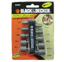 【ブラック&デッカー】 B&D ソケットビット 10本セット B43003