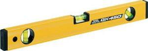 【タジマ】 水平器 マグネット付 ボックスレベルデラックス 450mm BX3-D45M