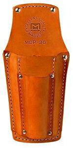 マーベル 高級牛皮 電工ポケット ドライバー2本・ペンチ差し MDP-38