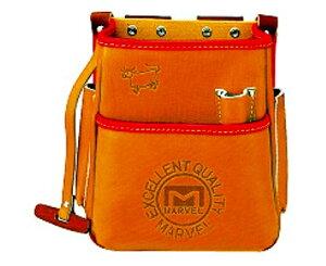 マーベル 高級牛皮 電工ポケット 腰袋 MDP-210