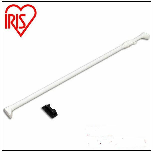 【アイリスオーヤマ】 強力伸縮棒 ホワイト 幅170〜280cm ≪H-NPJ-280≫ 代引き不可 直送品