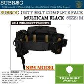 SUBROC(サブロック)デュティベルトコンプリートパックマルチカムブラック/MサイズP06Dec14