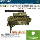 SUBROC(サブロック)デュティベルトコンプリートパックマルチカム/MサイズP06Dec14