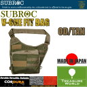 ●2016 NEW●SUBROC(サブロック)V-ONE FIT BAGOD/TAN02P03Sep16