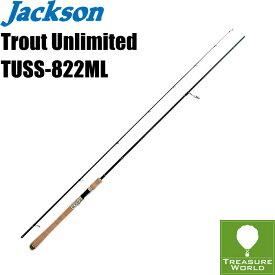 ●即納●Jackson (ジャクソン)Trout Unlimited(トラウト アンリミテッド)TUSS-822ML【トラウトロッド】【渓流ロッド】〔分類:ルアーフィッシング〕02P03Sep16