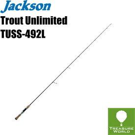 ●即納●Jackson (ジャクソン)Trout Unlimited(トラウト アンリミテッド)TUSS-492L【トラウトロッド】【渓流ロッド】【スピニングモデル】〔分類:ルアーフィッシング〕