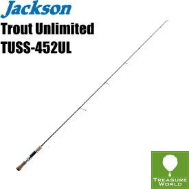 ●即納●Jackson (ジャクソン)Trout Unlimited(トラウト アンリミテッド)TUSS-452UL【トラウトロッド】【渓流ロッド】【スピニングモデル】〔分類:ルアーフィッシング〕